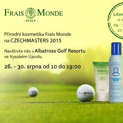 Kosmetika Frais Monde na největším golfovém turnaji vČR!
