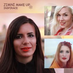 Zimní make-up inspirace